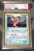 Pokemon EX Fire Red Leaf Green PSA 10 Gem Mint Magikarp 67//112 Uncommon Error