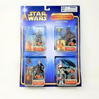 Star Wars Attack of the Clones Rare 4-Pack MIB