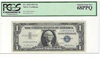 1957 FR-1619 Silver Certificate J-A block PCGS 68 PPQ Superb Gem New