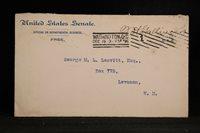 Congressional Free Frank: Gallinger, Jacob H 1896 Cover, New Hampshire Senator