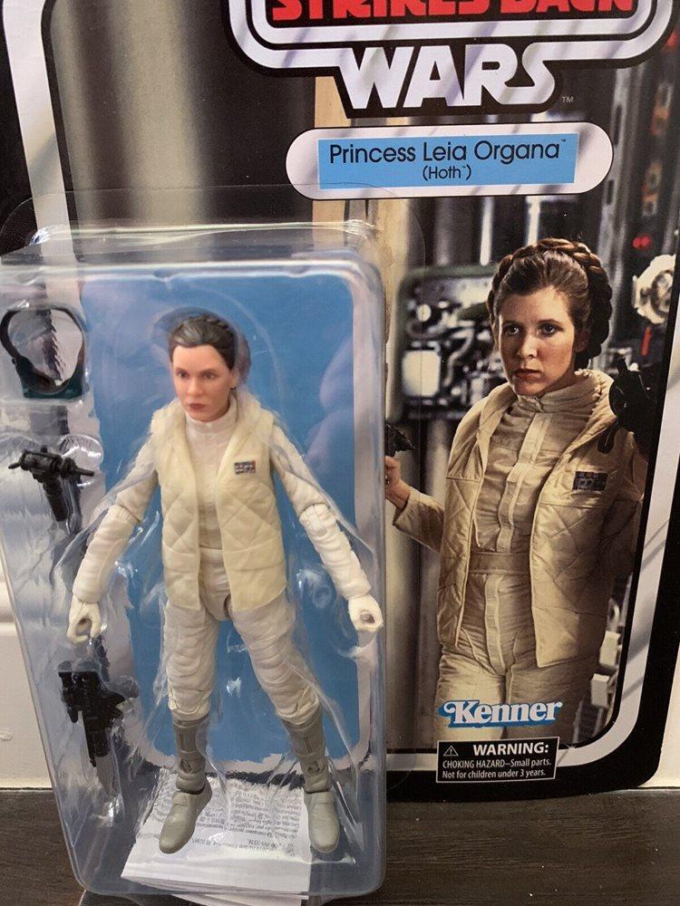 Princess Leia 40th Anniversary Empire Strikes Back Star Wars 6-Inch Figure *NIB