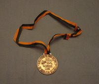 """1983 Special Olympics 2"""" Medal with ribbon - Trotters Ball Sponsor"""