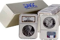 2000 - Silver Eagle Dollar MS69 NGC