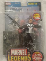 Marvel Legends Punisher Series 4 Silver Foil Variant ToyBiz 70178