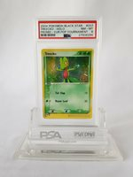 Pokemon 2004 Treecko Holo Black Star Promo European POP Tournament #007 PSA 8