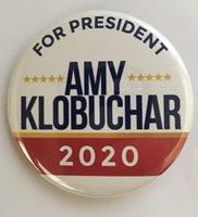Amy Klobuchar 2020 Presidential Hopeful Campaign button (KLOBUCHAR-703)