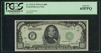 1934 A $1000 Fr.2212 F Atlanta PCGS 65 PPQ scarce Gem Best and Lowered---LOWER