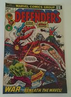 The Defenders #7 (Aug 1973, Marvel)