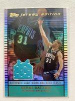 2003 Topps Jersey Edition Shane Battier Memphis Grizzlies #SCB