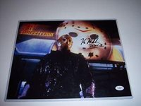 Jason Voorhees Friday 13th Signed Autograph Tribute Print 8.5x11 With COA