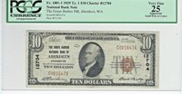 "1929 $20 CHARTER 12704 ""THE GRAYS HARBOR NB OF ABERDEEN WASHINGTON"""