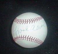 Hank Aaron Signed Baseball - National League Steiner - Autographed Baseballs
