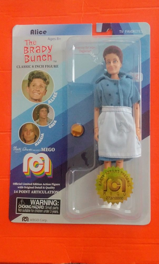 Mego The Brady Bunch Alice Action Figure 8 Mego Corp