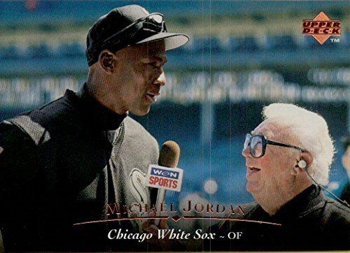 088e4ecfaef MICHAEL JORDAN CHICAGO WHITE SOX COLLECTIBLE BASEBALL CARD - 1995 UPPER  DECK BASEBALL CARD  200. Click To Enlarge