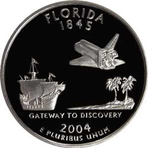 2004-S PCGS PR69DCAM Statehood SILVER Quarter SET of 5