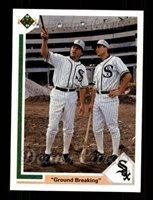1990 Upper Deck 21 Robin Ventura Chicago White Sox B