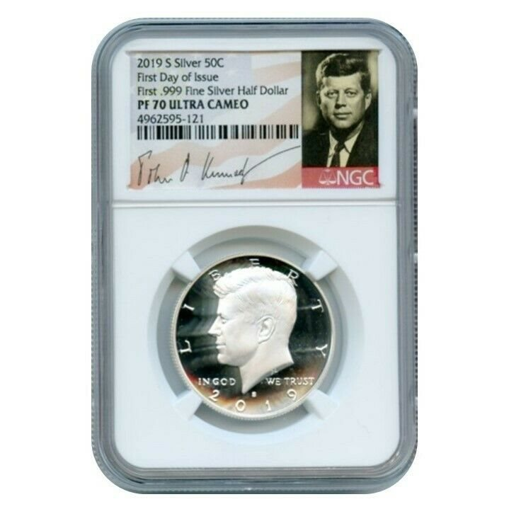 2019 S Clad Kennedy Explore and Discover Set PCGS PR70  FDOI First Day