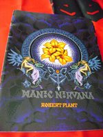 Lot of 9 Vintage Robert Plant Manic Nirvana Memorabilia (1990s) Originals