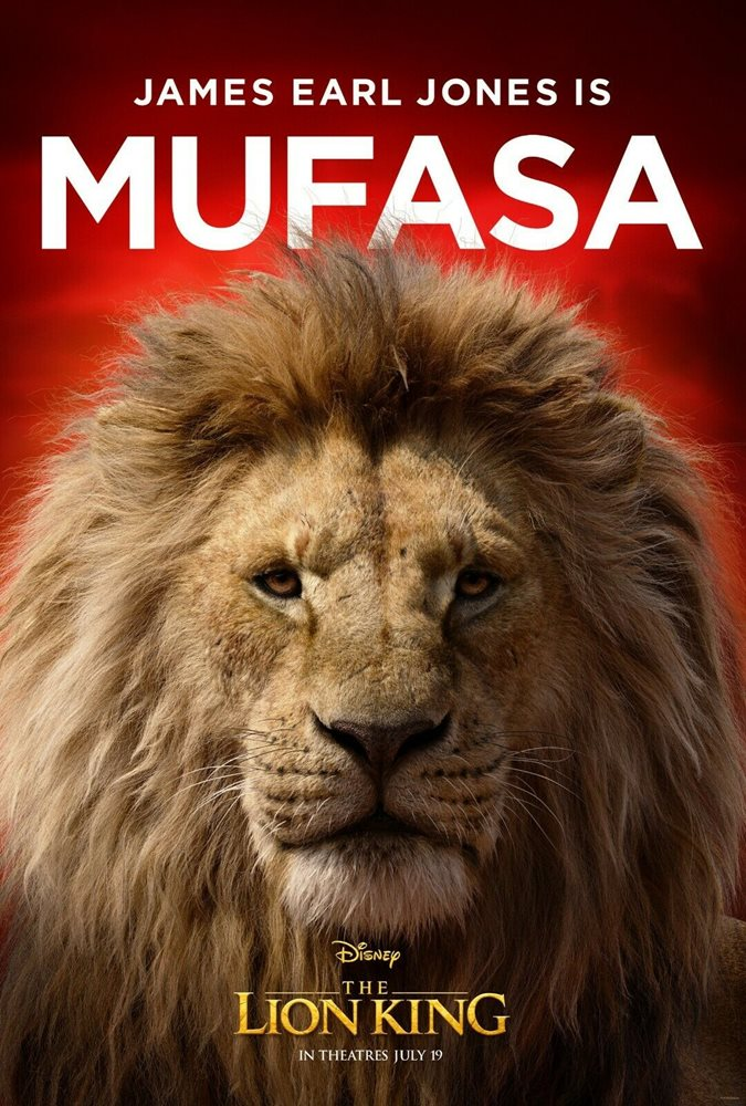 The Lion King Movie Poster 2019 11 X 17 Mufasa