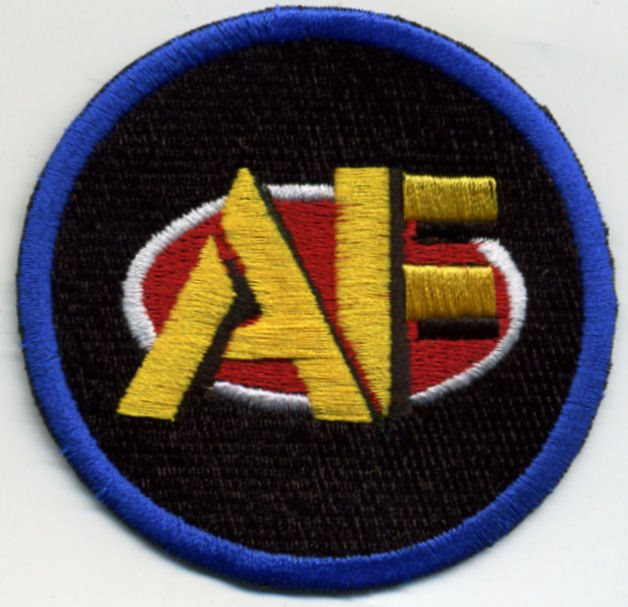 """GI Joe Action Force 3/"""" Embroidered Iron-on Patch Terror Bande German enemy"""