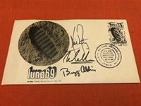Apollo 11 Insurance cover - Neil Amrstrong, Michael Collins and Buzz Aldrin.