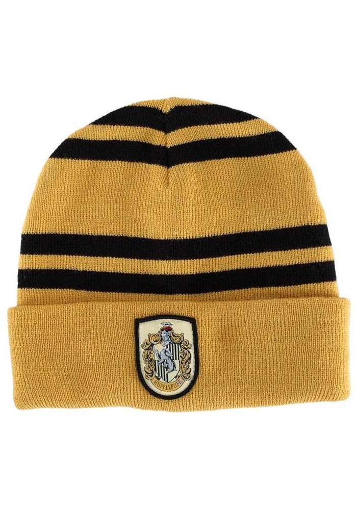 bbd9975ee6f NEW Harry Potter Hogwarts Hufflepuff Beanie Official Li