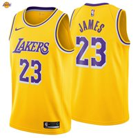 reputable site 6f74c 4392a LeBron James 23 Los Angeles Lakers Nike Swingman Jersey 2018/19 Icon  Edition NWT