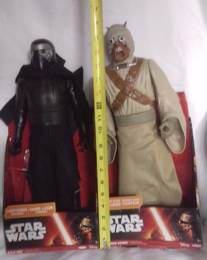 Star Wars Tusken Raider Kylo Ren 18 Figure New