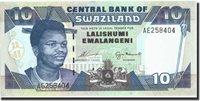 10 Emalangeni Swaziland Banknote, Undated 1995, Km:24a