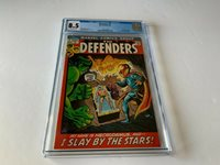 DEFENDERS 1 CGC 8.5 DOCTOR STRANGE HULK SUB-MARINER MARVEL COMICS 1972