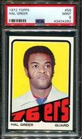 1972 TOPPS #56 HAL GREER 76ERS HOF PSA 9 K2723018-282