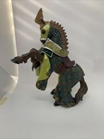 Papo 39371 Horse of The Green Dragon Knight! FAST FREE SHIPPING!