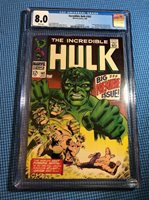 Incredible Hulk #102 CGC 8.0 White Pages - Premiere Issue - Origin Retold