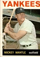 1964 Topps 50 Mickey Mantle VG-EX #D336167