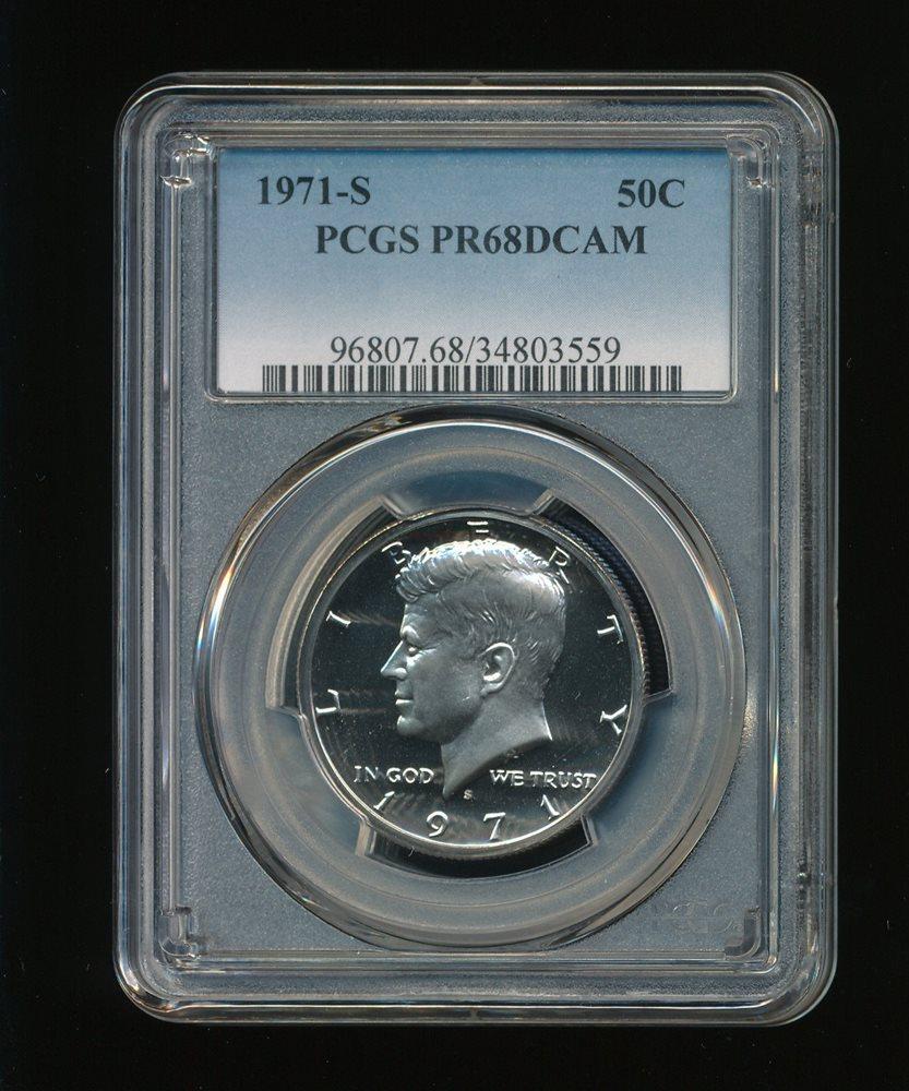 Proof Kennedy Half Dollar--PCGS Pr70 Deep Cameo 1993-S 50C DC