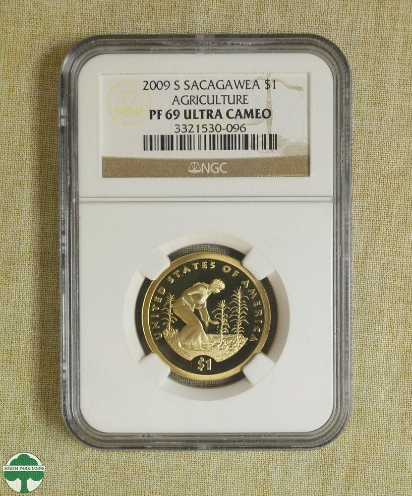 2020-S Native American Sacagawea Dollar PCGS PR70DCAM Eagle Label FIRST STRIKE