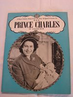H.R.H. Prince Charles of Edinburgh, ca. 1948 British royalty publication