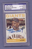 1964 topps WILLIE MAYS auto GIANTS signed PSA/DNA #150 autograph autographed