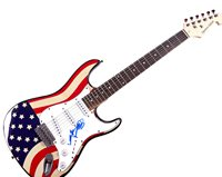 Rolling Stones Keith Richards Autographed Signed USA Guitar AFTAL UACC RD