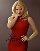 MEGAN HILTY Signed 11x14 SMASH IVY LYNN MARILYN MONROE Photo w/ Hologram COA
