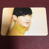 EXO CHANYEOL Love Me Right JAPAN Official Photo Card v05