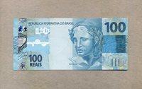 100 Reais 2010/2012 Brasilien P 257a