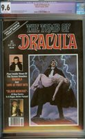 TOMB OF DRACULA #1 CGC 9.6 WHITE PAGES