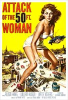 Attack of the 50 ft Woman - Movie Poster Print