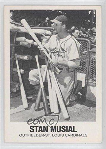 Stan Musial Baseball Card 1977 84 Tcma Renata Galasso 16