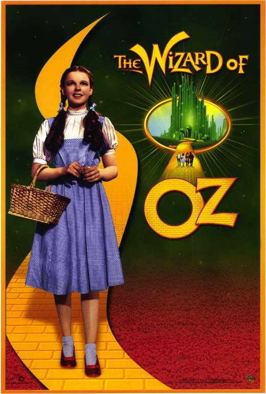 THE WIZARD OF OZ Movie PHOTO Print POSTER Textless Film Art Judy Garland 001