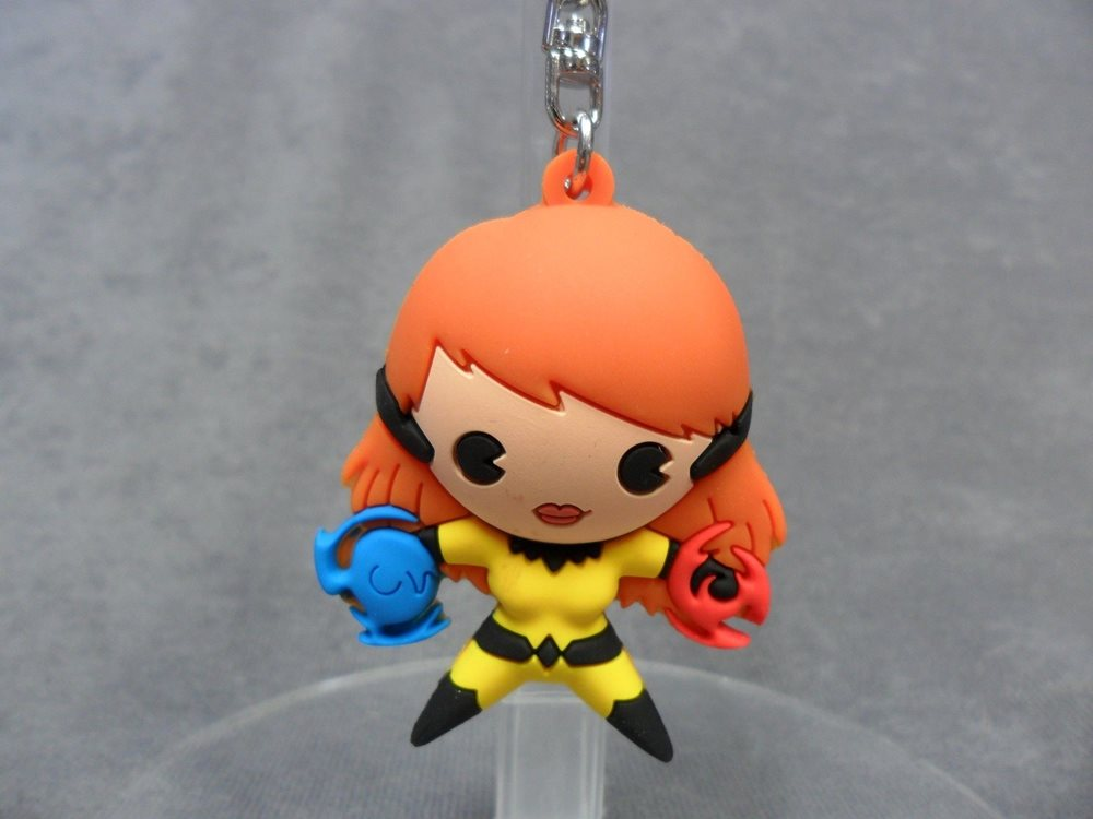 3-D Figural Key Chain Blind Bag Keychain Ring NEW Valkyrie Marvel Collectors