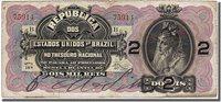 2 Mil Reis 1900 Brasilien Banknote
