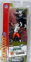 JEFF GARCIA / TERRELL OWENS NFL 3 Inch Action Figure Football Series 2 McFarlane Sportspicks Toys