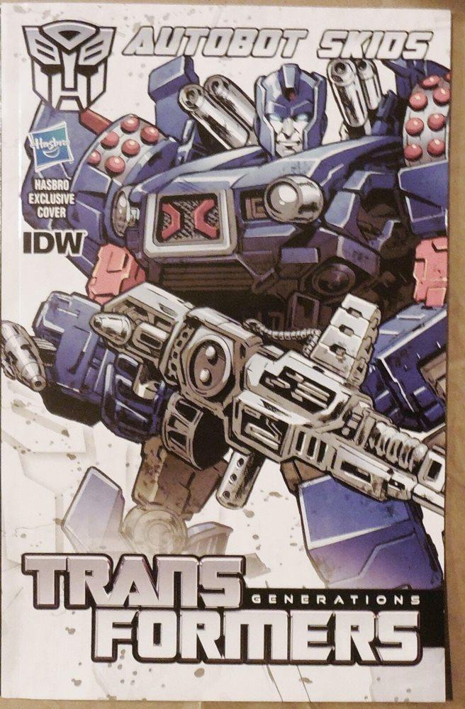 Transformers Generations Deluxe THUNDERCRACKER IDW Comic; MOSC New 2013 Hasbro